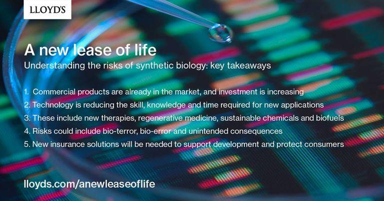 A Lloyd\'s Emerging Risk Report | SynbiCITE